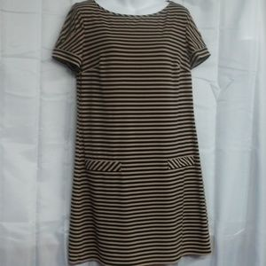 Laundry by Design striped, pullover dress size M